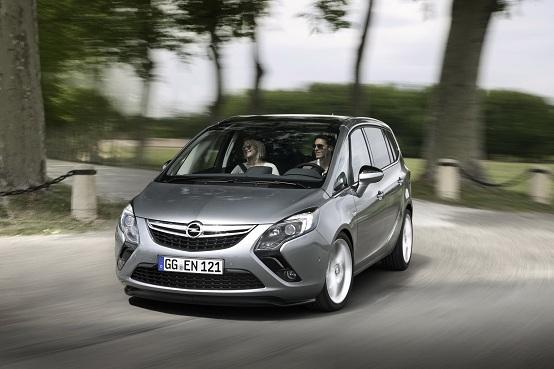 Video: Opel Zafira Tourer