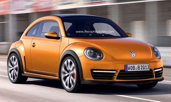 Volkswagen Beetle R, prime ricostruzioni grafiche