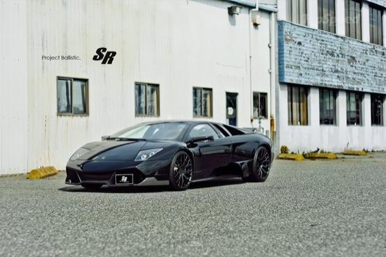 Lamborghini Murcielago LP640 Ballistic by SR Project