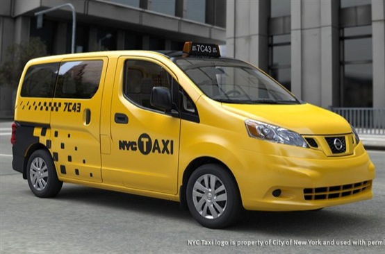 Nissan produrrà i taxi del futuro per New York City