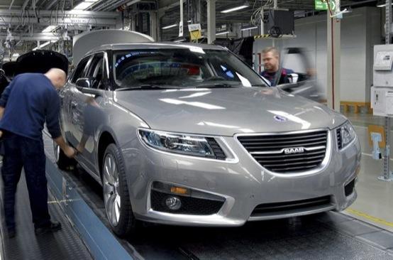 Saab, riparte ufficialmente la produzione
