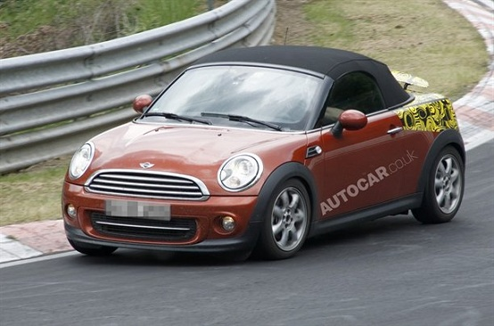 MINI Roadster, la nuova versione dell'utilitaria debutterà nel 2012