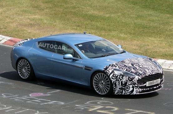 Aston Martin Rapide 2012 - Foto spia 06-06-2011