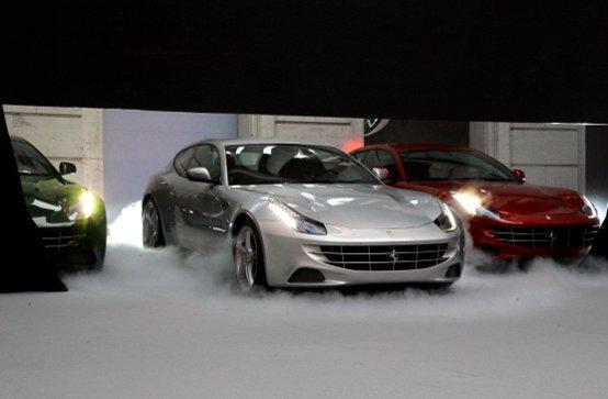 Ferrari FF: La Germania tra i Paesi in cui la nuova V12 Ferrari è più richiesta
