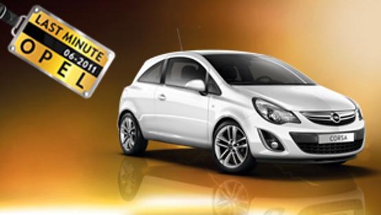 Opel, le offerte last minute di giugno