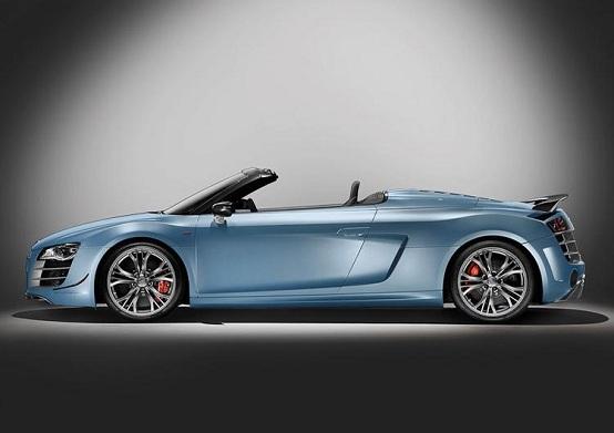 Video: nuova Audi R8 GT Spyder