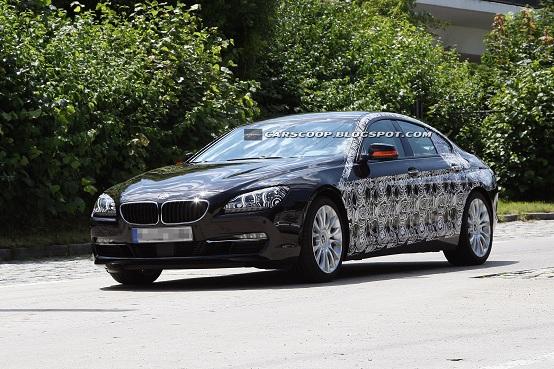 BMW Serie 6 Gran Coupé 2012 foto spia