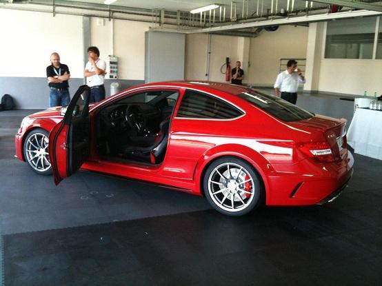 Mercedes C63 AMG Black Series, sarà presentata ufficialmente il 24 luglio