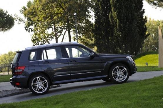 Mercedes GLK, la versione restyling sarà presentata al Salone di Ginevra 2012