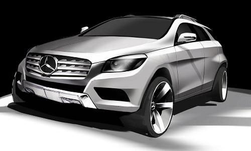 Mercedes, ancora indiscrezioni sul SUV-Coupé anti-BMW X6