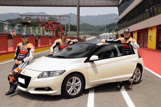 Honda CR-Z, la sportiva ibrida raccomandata dai campioni della MotoGP