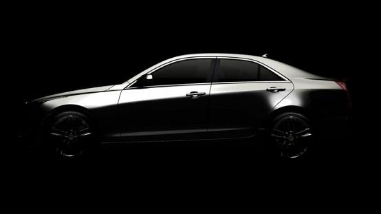Cadillac ATS, teaser ufficiale della nuova berlina compatta
