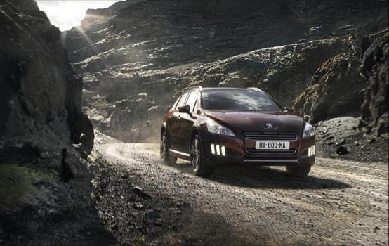Salone di Francoforte 2011: anteprima Peugeot 508 RXH, il nuovo ibrido diesel