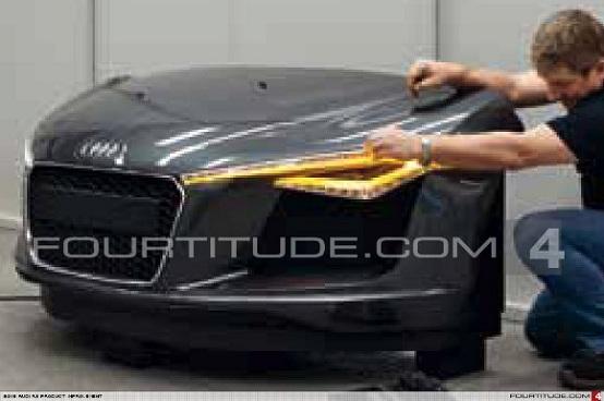 Audi R8, è questa la versione restyling?