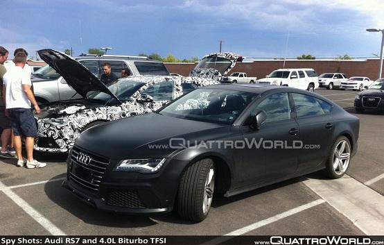 Audi Rs7 Sportback E Audi Rs6 Avant Foto Spia Delle Due