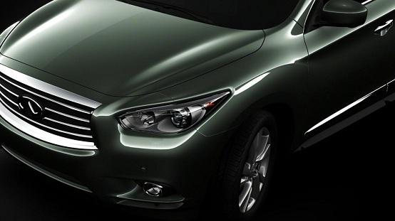 Infiniti JX, quarto teaser della vettura