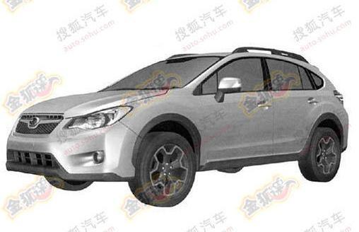 Subaru Impreza XV bozzetti