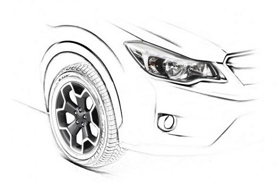 Subaru XV, la presentazione a Francoforte. Teaser ufficiale