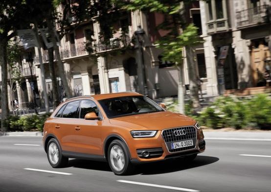 Audi Q3, presentazione ufficiale in video