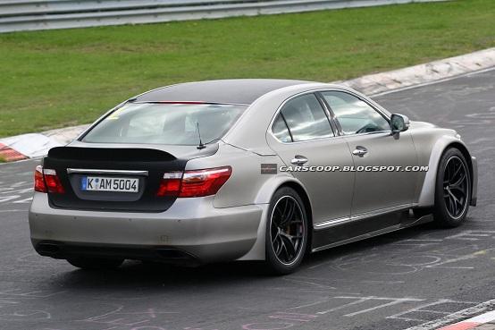Lexus LS TMG, nuova berlina super-sportiva di segmento F