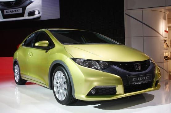 Nuova Honda Civic - Salone di Francoforte 2011