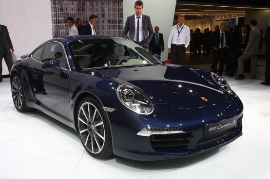 Porsche 911 Carrera S - Salone di Francoforte 2011