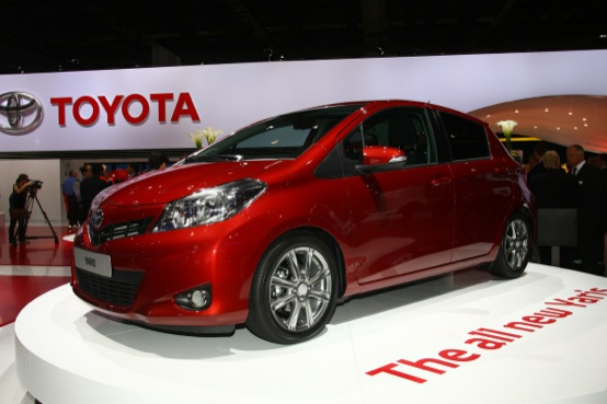 Nuova Toyota Yaris - Salone di Francoforte 2011