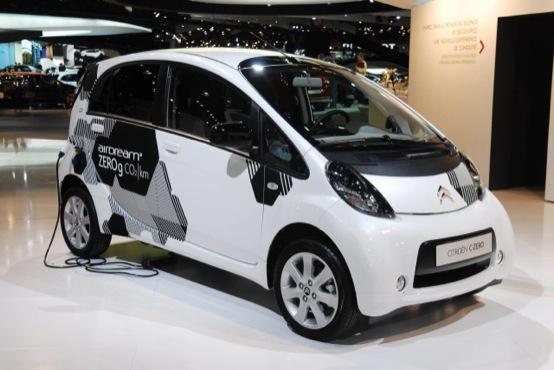 Roma: Citroën C-Zero per il progetto ecologico del Comune