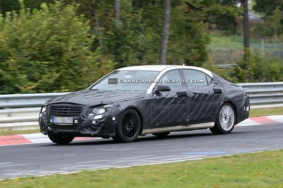 Mercedes Classe S 2013 foto spia ottobre 2011