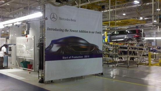 Mercedes: primo teaser di MLC, il SUV-coupé?