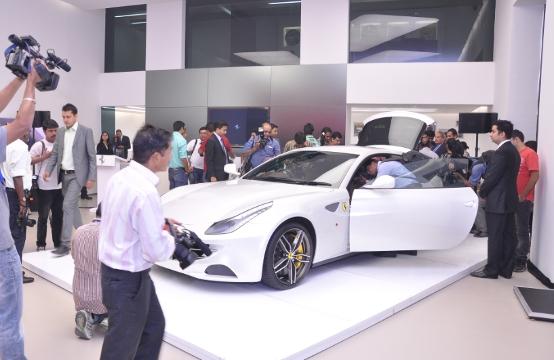 Ferrari: Debutto in India per la FF. A Nuova Delhi protagonista anche la 458 Italia