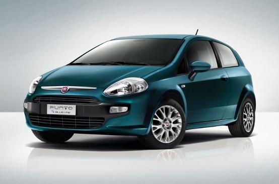 Nuova Fiat Punto Blue&Me in offerta