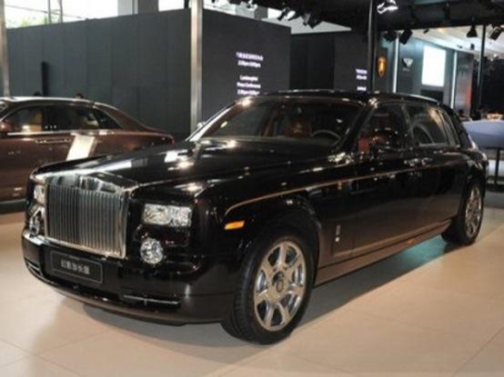 Rolls-Royce Phantom China Dragon