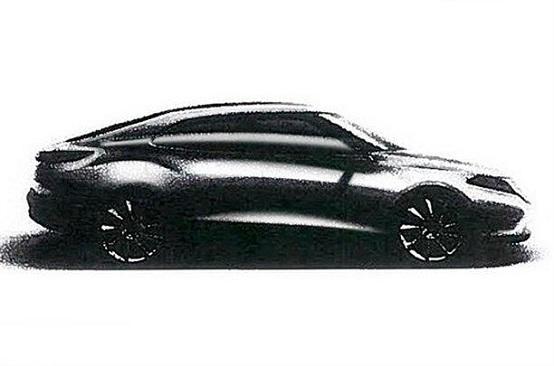 Saab, primo sketch della nuova 9-3?