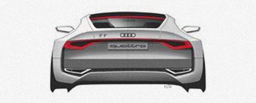 Audi, teaser ufficiale della nuova TT Quattro Concept