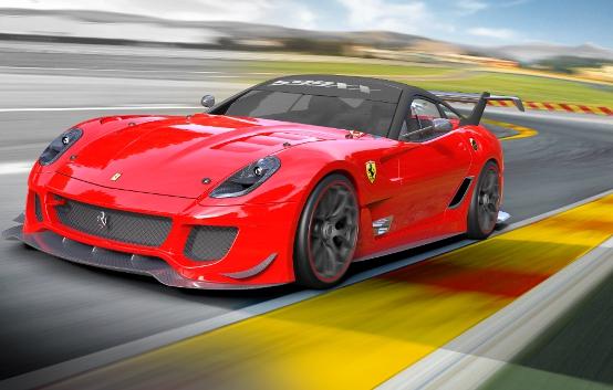 Al Motor Show di Bologna anteprima mondiale per la Ferrari 599XX con il pacchetto evoluzione