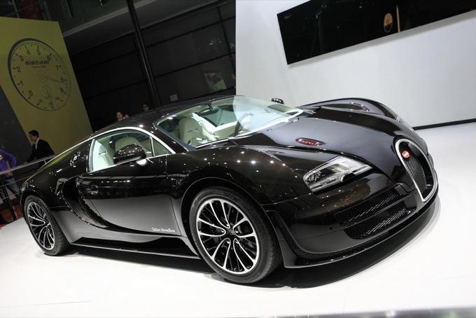 """Bugatti Veyron Super Sport """"Edition Merveilleux"""", presentazione della nuova serie limitata"""
