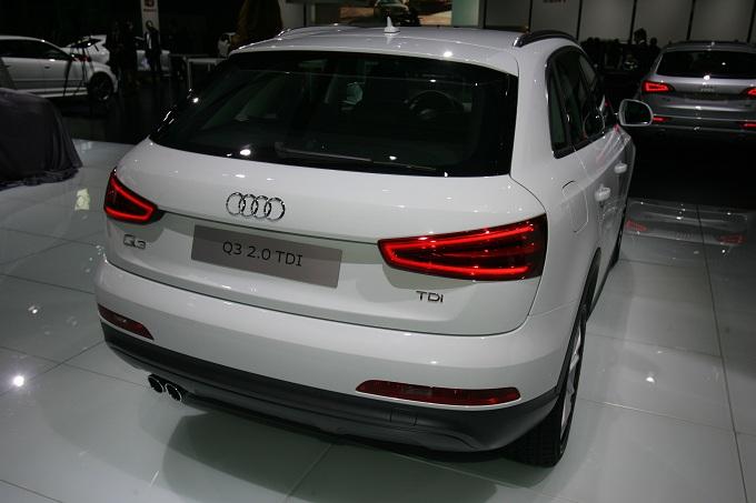 Audi Q3 Motor Show 2011