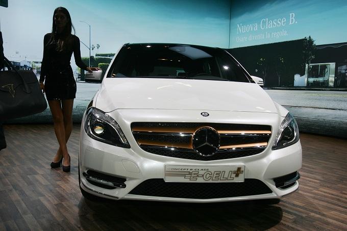 Mercedes Classe B E-Cell Motor Show 2011