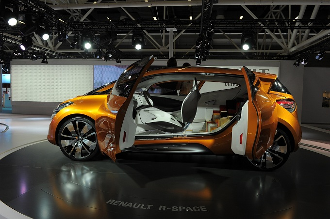 Renault R-Space Concept Motor Show 2011