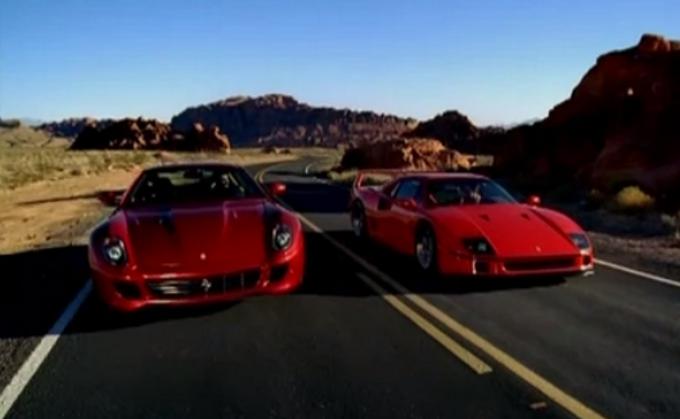 Ferrari 599 GTB Fiorano VS Ferrari F40: Video ufficiale