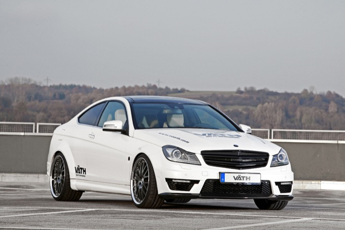 Mercedes C63 AMG Coupe V63 Supercharged by VÄTH, oltre il concetto AMG