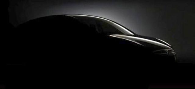 Tesla Model X, un teaser prima della presentazione