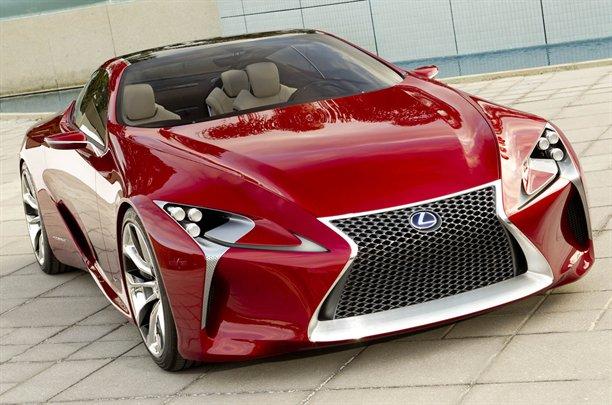 Lexus LF-LC Concept, nuove immagini. Sarà al Salone di Detroit 2012