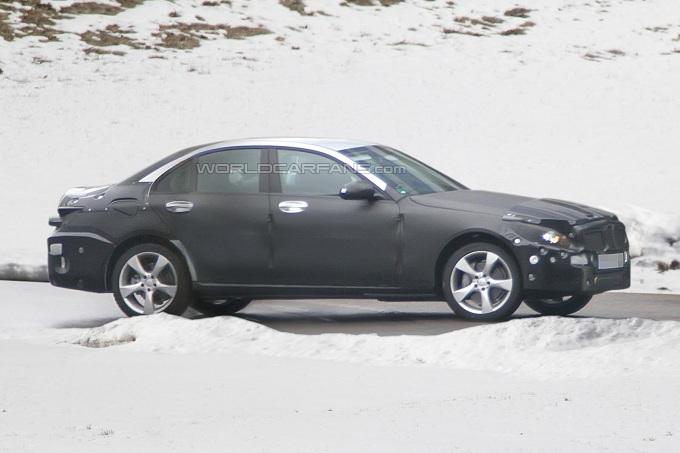 Mercedes Classe C 2014 foto spia gennaio 2012