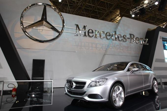 Nuova Mercedes Classe CLS wagon, appare un nuovo video dei test sulla neve
