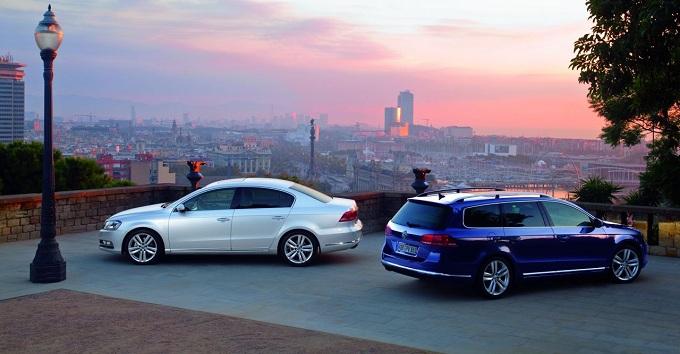 Volkswagen Passat 2014, prime informazioni sulla famiglia di segmento D