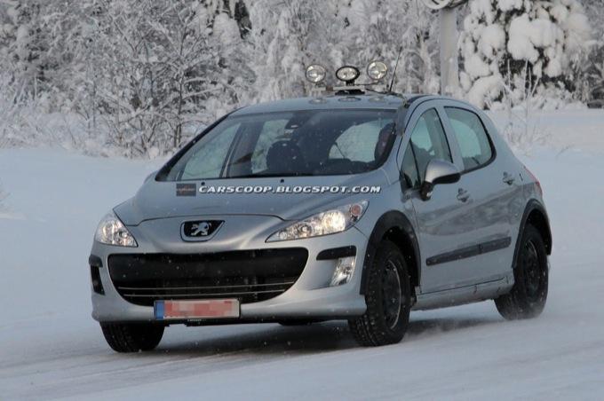Peugeot 301 - Foto spia 27-01-2012