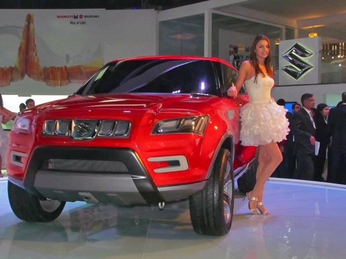 Suzuki XA Alpha, ecco la concept car svelata al Salone di Nuova Delhi