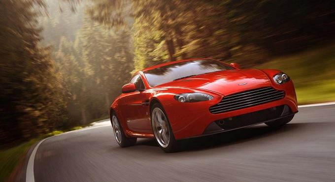Aston Martin V8 Vantage restyling